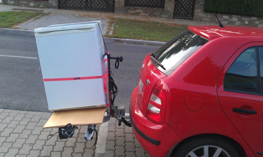 Ausgezeichnet Kühlschrank Transportieren Fotos - Die besten ...