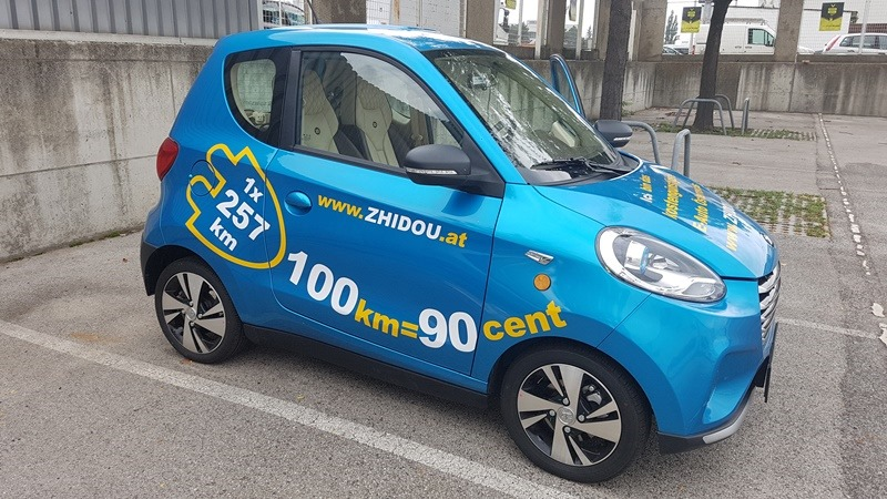 Mini Elektro Auto Zhidou Im Kurztest Belclat Infoportal